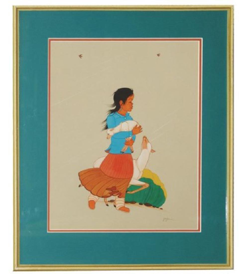 Beatien Yazz, Navajo (1928-2012) - 2