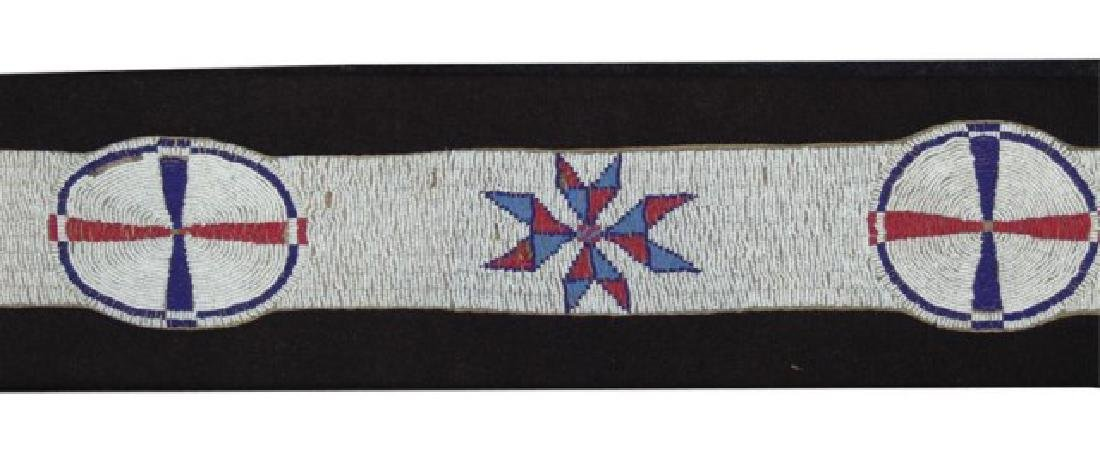 Sioux Beaded Blanket Strip - 3