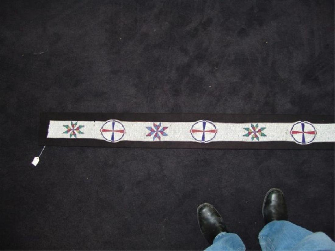 Sioux Beaded Blanket Strip - 4