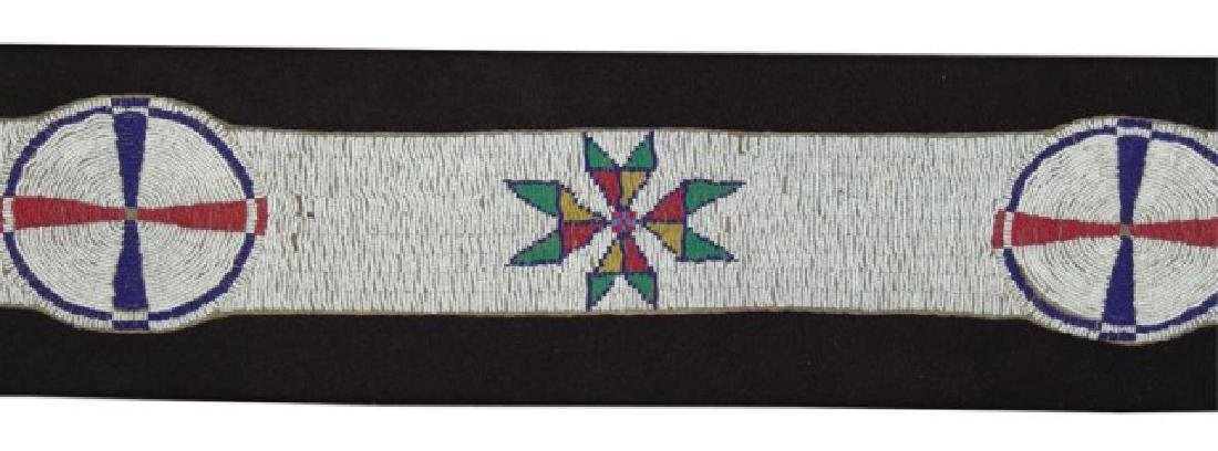Sioux Beaded Blanket Strip - 5