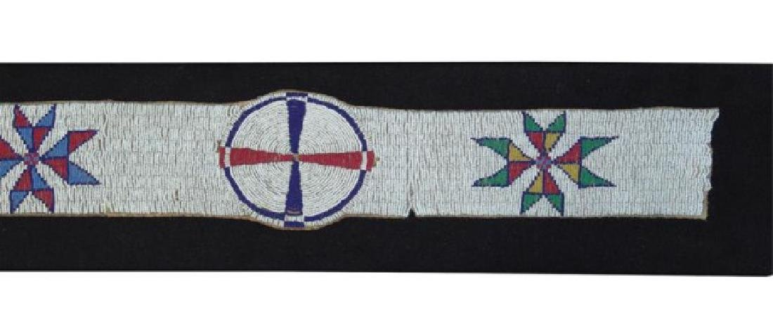 Sioux Beaded Blanket Strip - 7