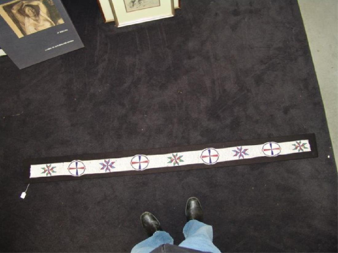 Sioux Beaded Blanket Strip - 9
