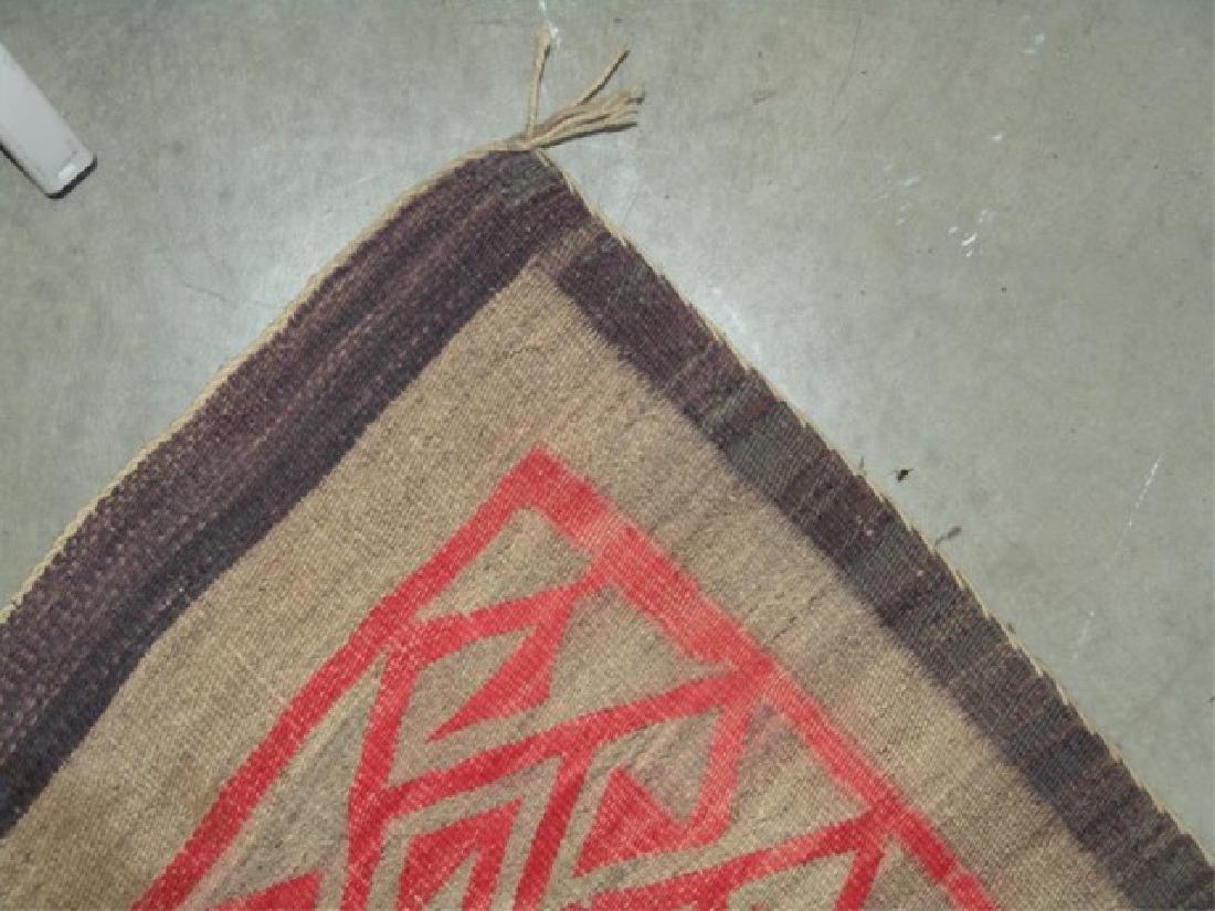 Huge Old Navajo Rug/Weaving - 10