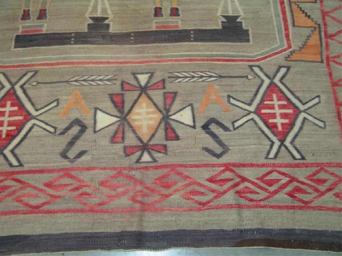 Huge Old Navajo Rug/Weaving - 3