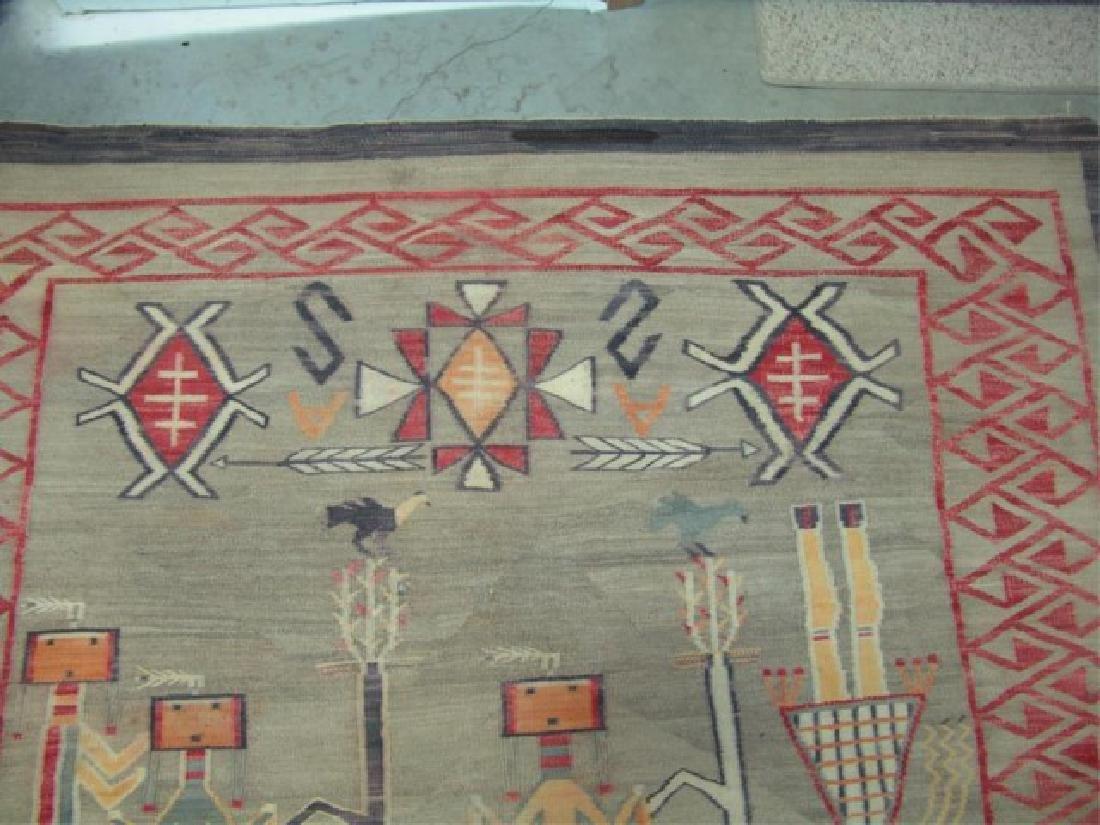 Huge Old Navajo Rug/Weaving - 5