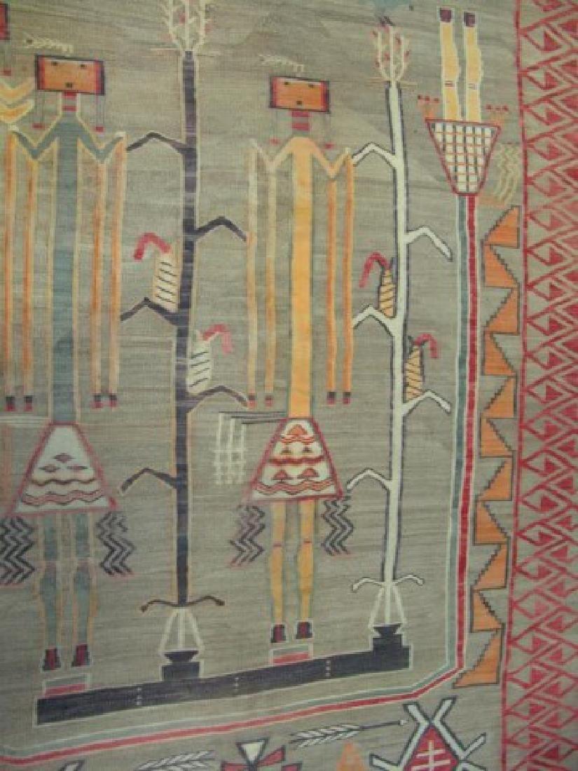 Huge Old Navajo Rug/Weaving - 8