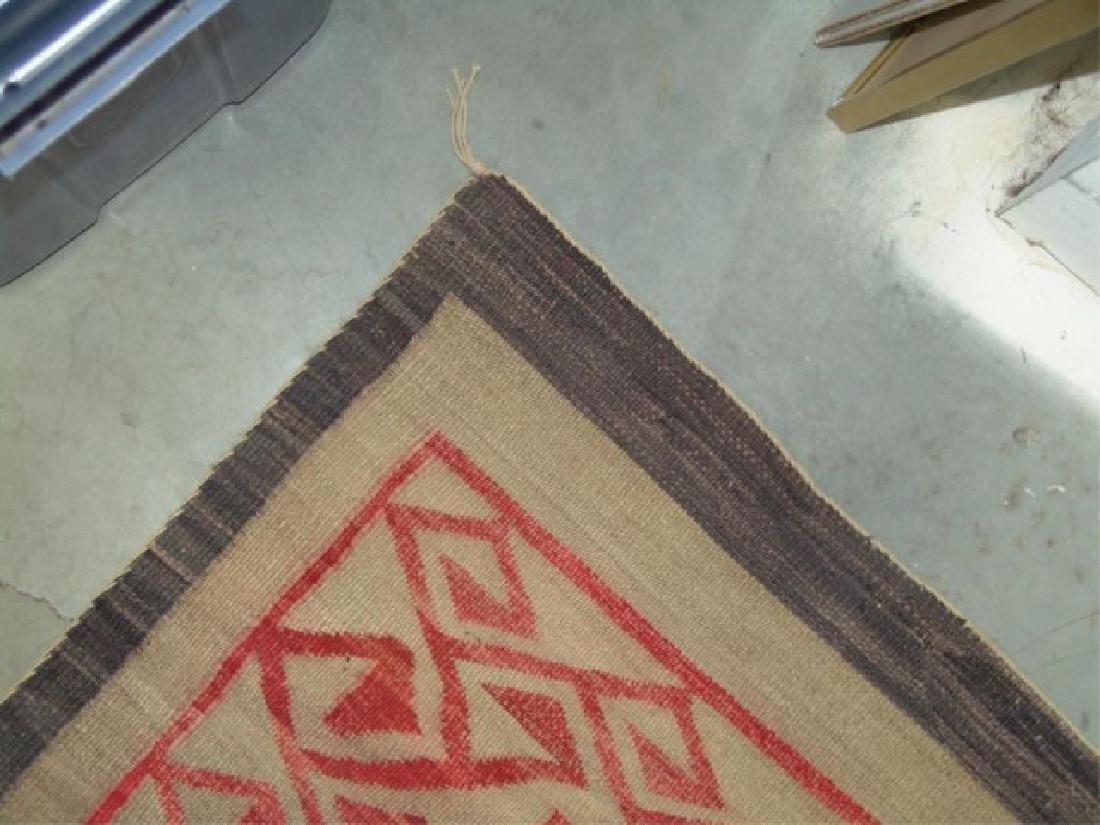 Huge Old Navajo Rug/Weaving - 9