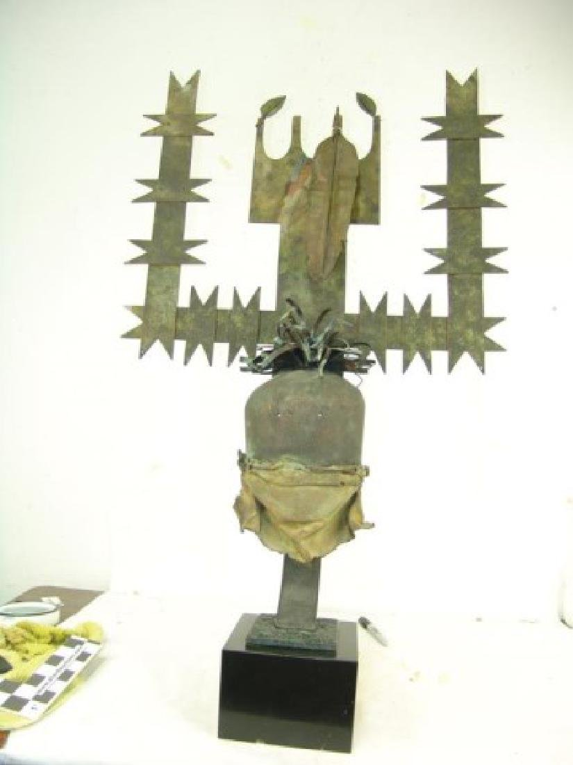 Devil Dancer Headdress Sculpture - 10