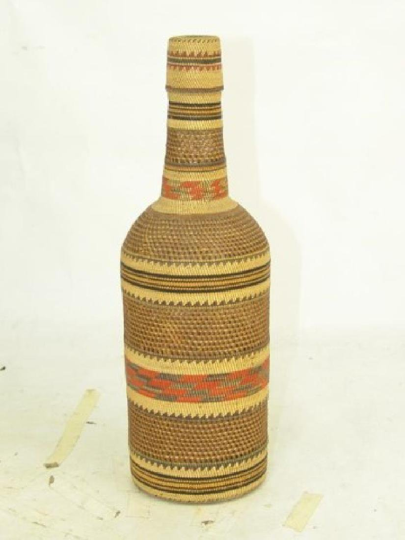 Makah Bottle Basket - 2