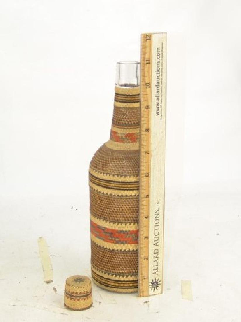 Makah Bottle Basket - 5