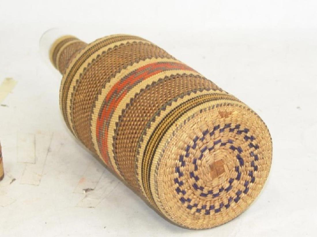 Makah Bottle Basket - 8