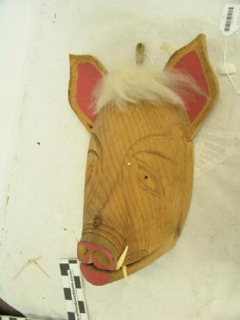 Iroquois False Face Mask - 2