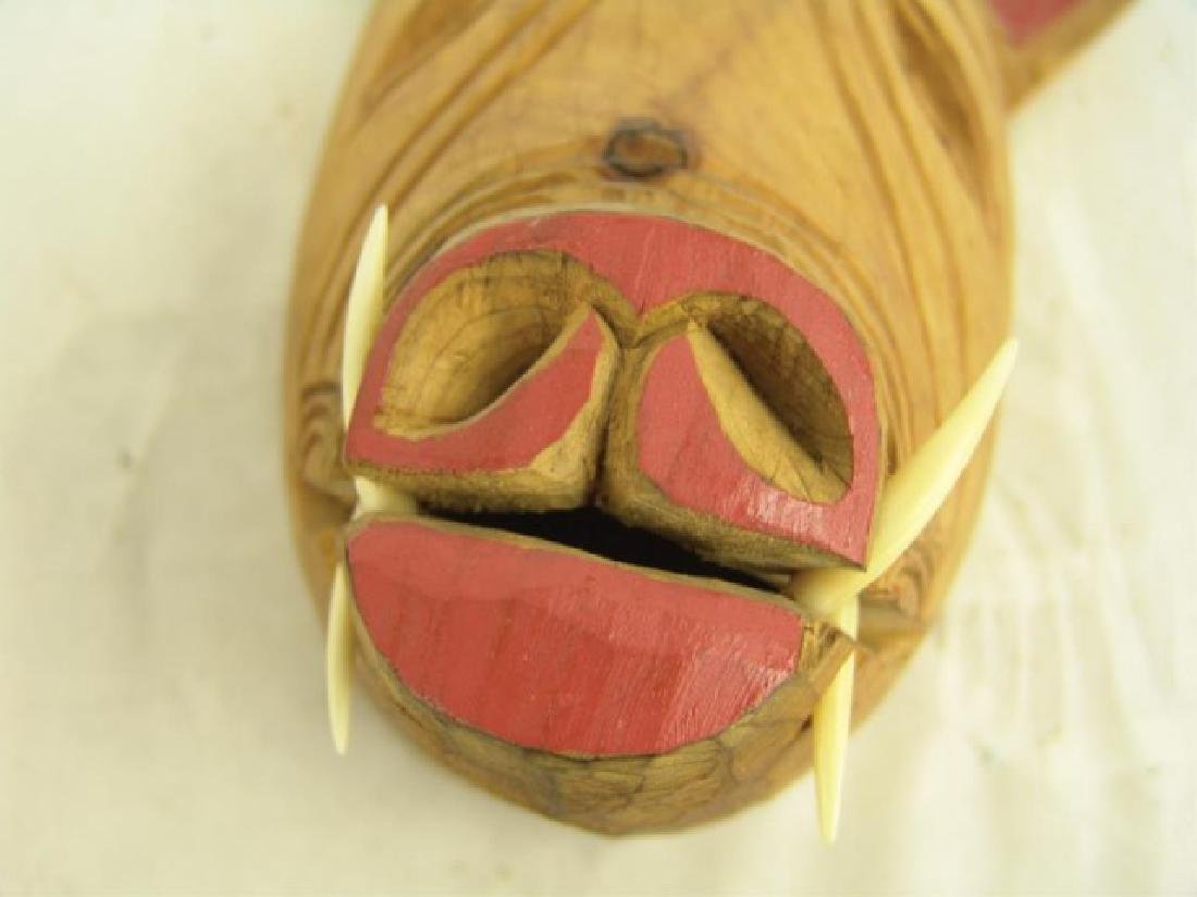 Iroquois False Face Mask - 4