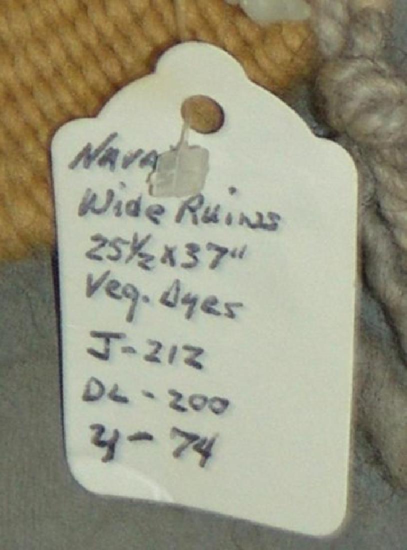 Navajo Rug/Weaving - 8