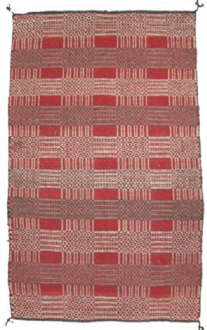 Navajo 2-sided Rug/Weaving - 3