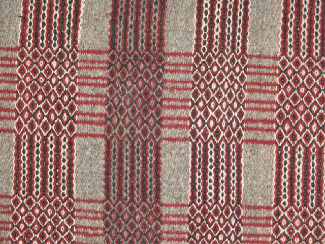Navajo 2-sided Rug/Weaving - 4