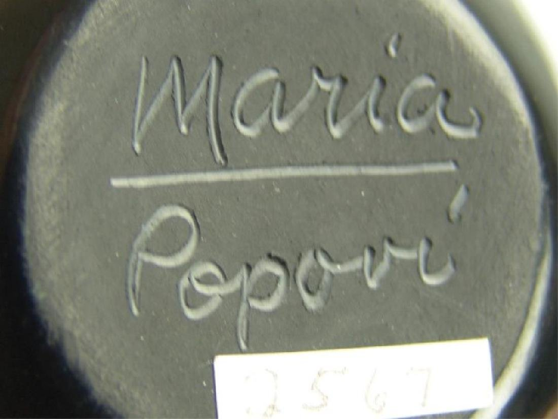 San Ildefonso Pottery Jar - Maria / Popovi - 6