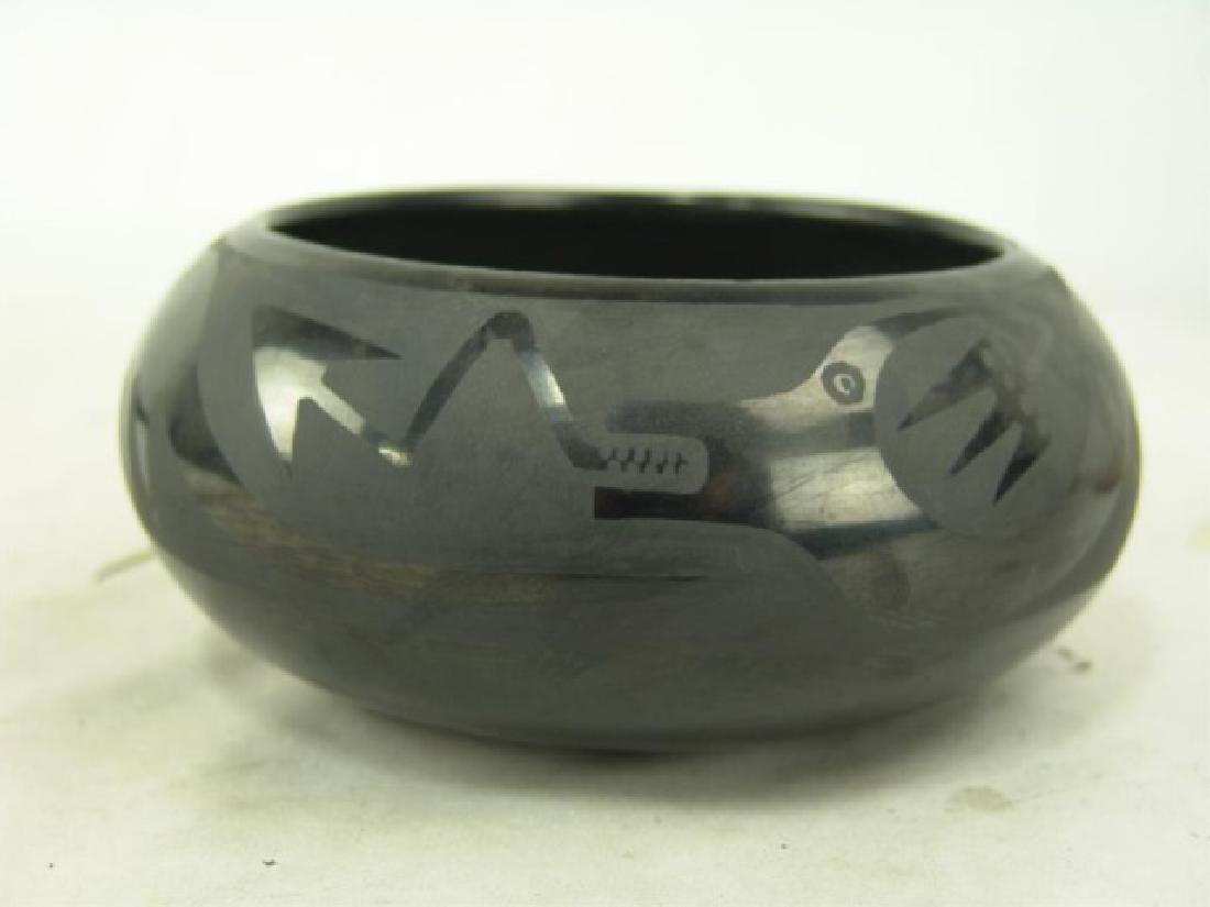 San Ildefonso Pottery Bowl - Marie & Santana - 2