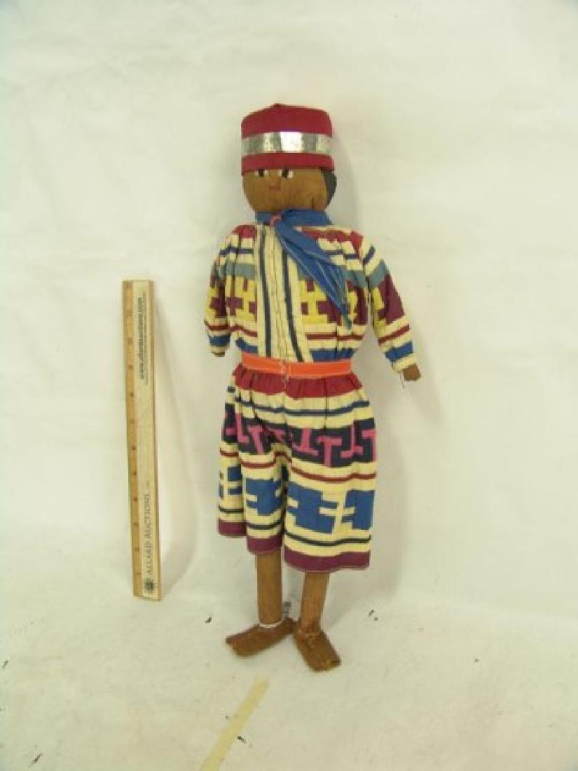 Seminole Male Doll - 2
