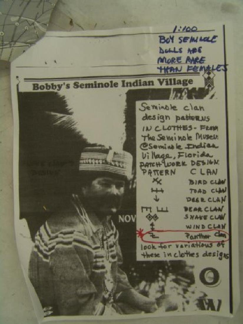 Seminole Male Doll - 8