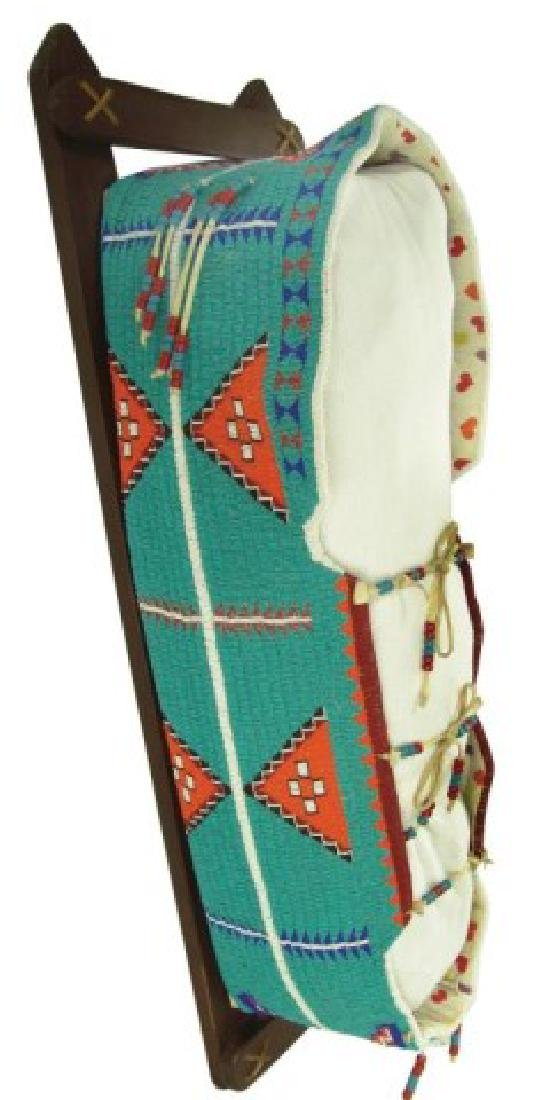 Great Basin Beaded Cradleboard