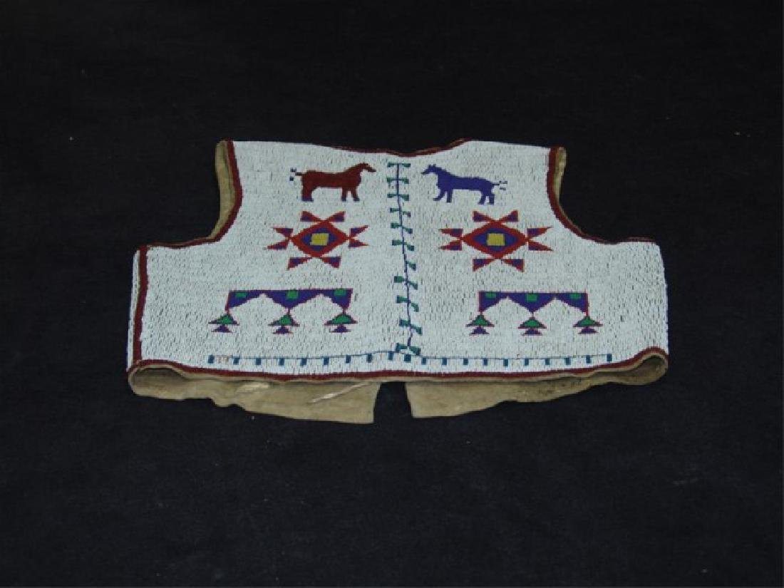 Sioux Fully Beaded Vest - 10