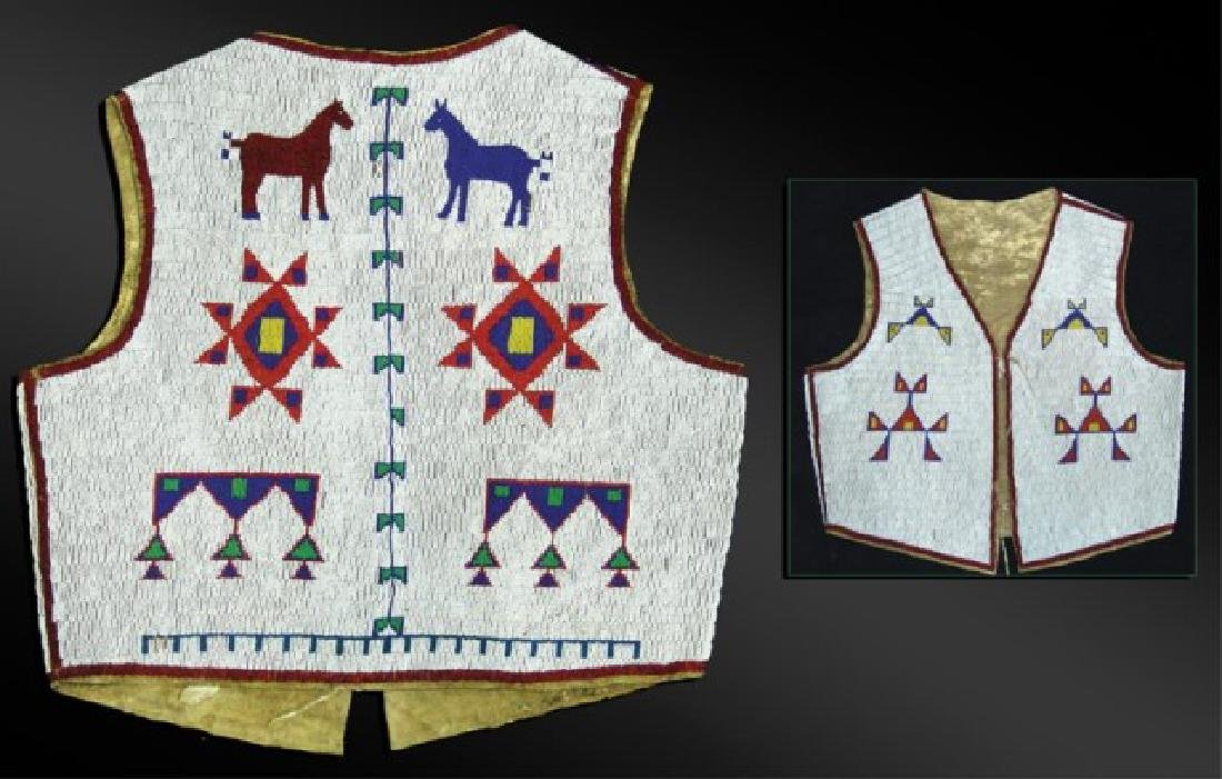 Sioux Fully Beaded Vest