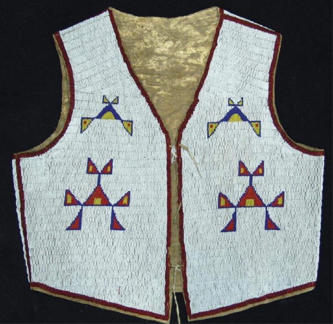Sioux Fully Beaded Vest - 2