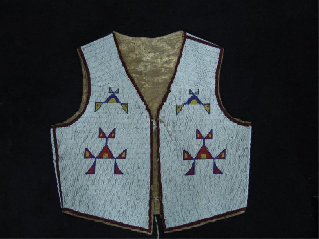 Sioux Fully Beaded Vest - 3