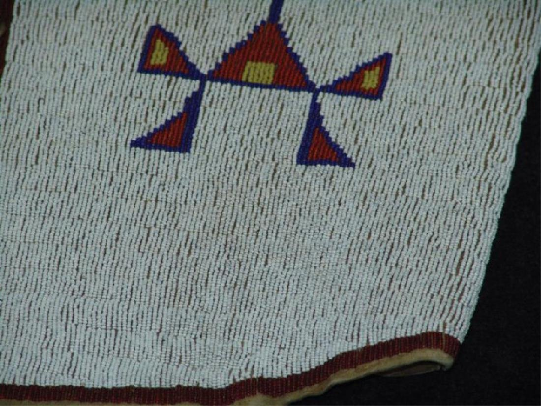 Sioux Fully Beaded Vest - 4