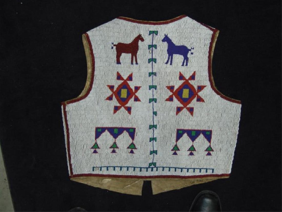 Sioux Fully Beaded Vest - 7