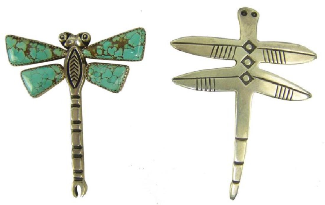 Two Dragonfly Pendants
