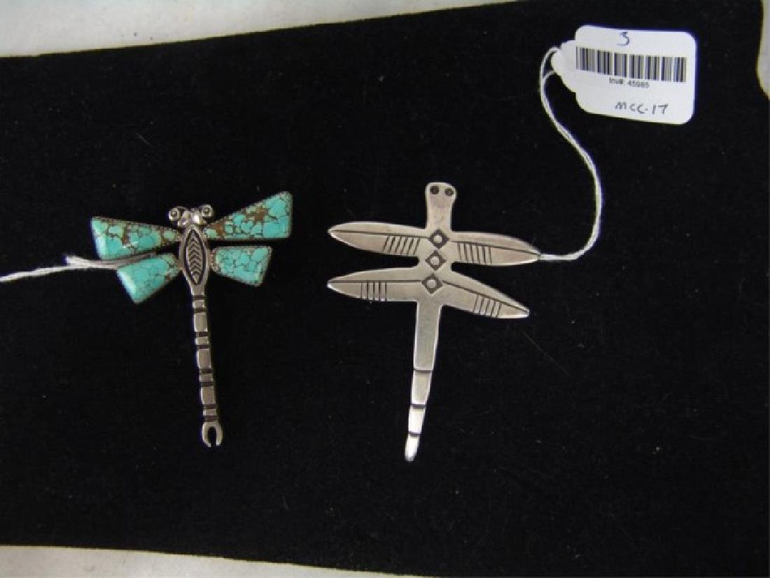 Two Dragonfly Pendants - 2