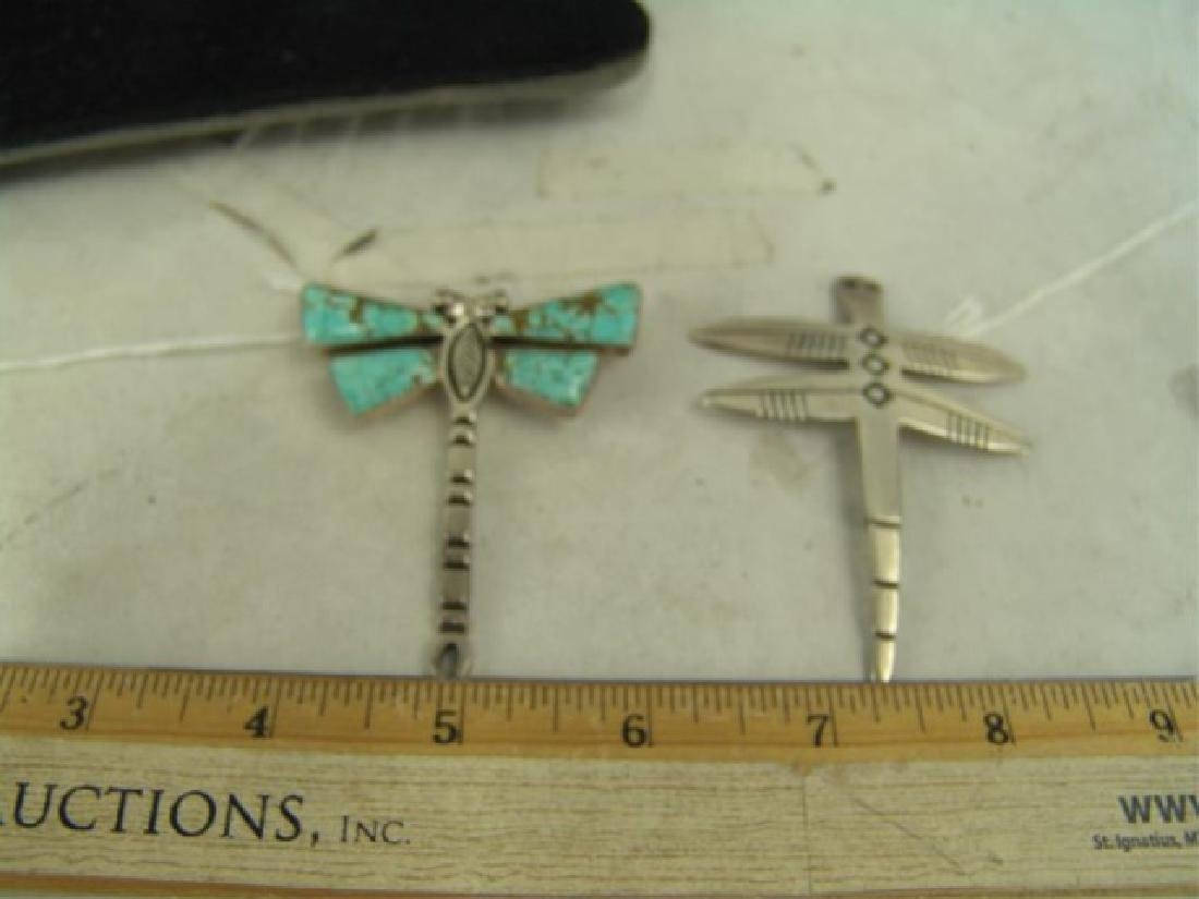 Two Dragonfly Pendants - 3