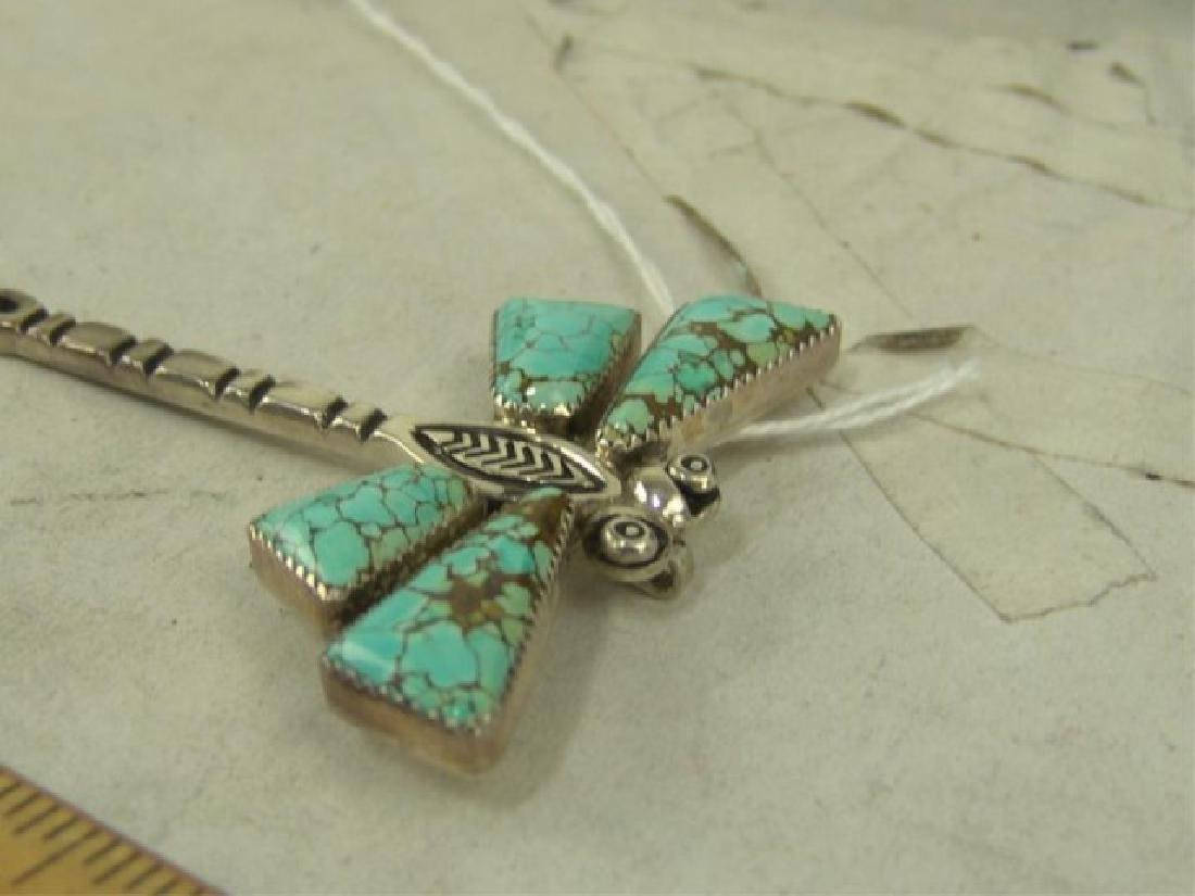Two Dragonfly Pendants - 5