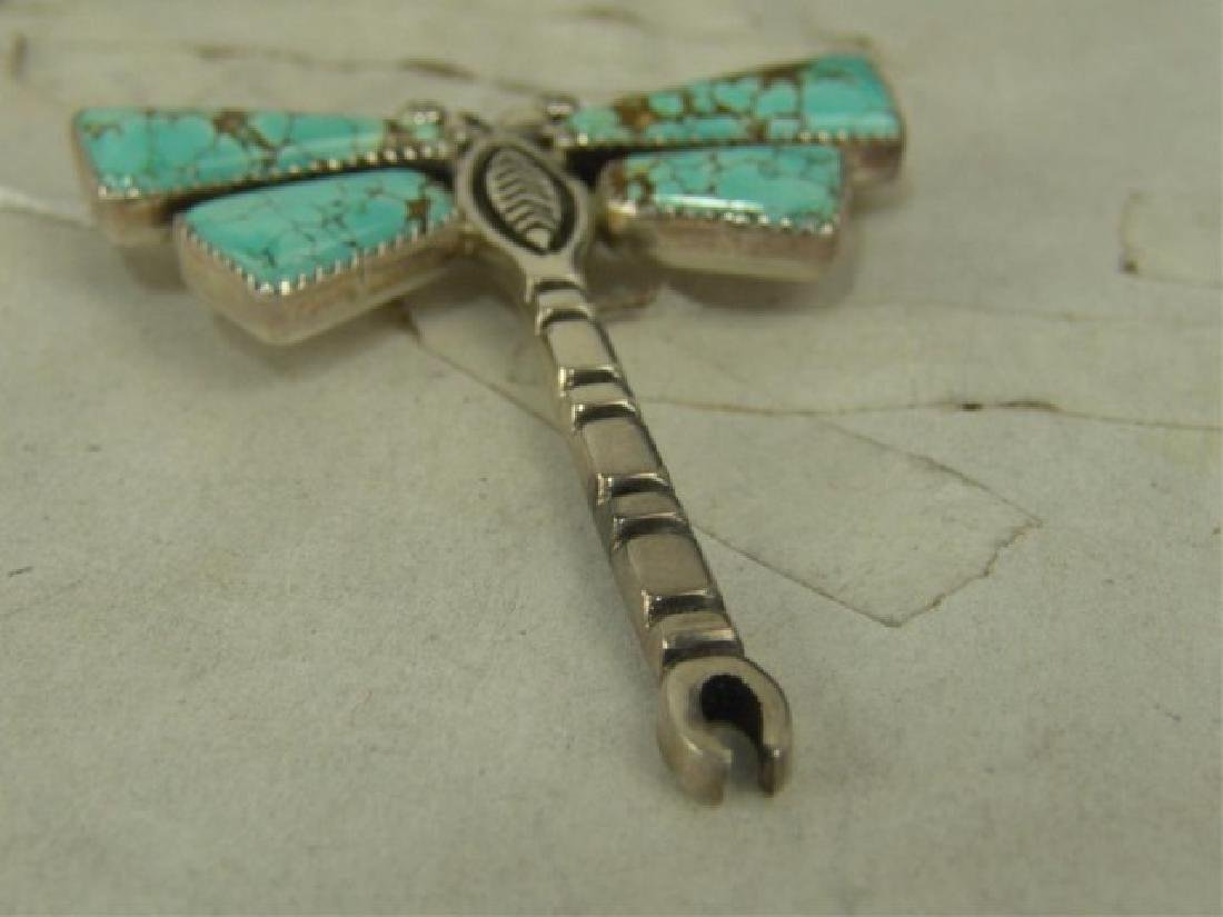 Two Dragonfly Pendants - 6