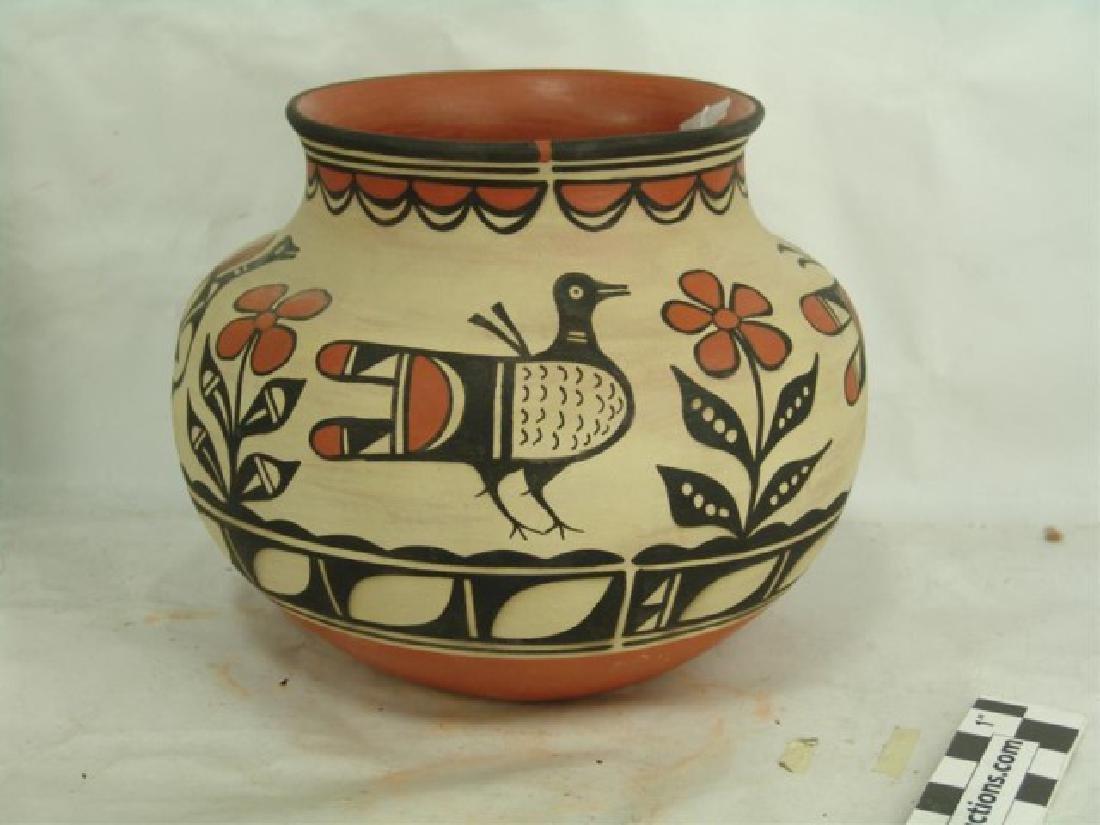 Santo Domingo Pottery Jar - Robert Tenorio(b.1950) - 3