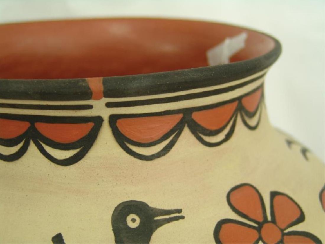 Santo Domingo Pottery Jar - Robert Tenorio(b.1950) - 5