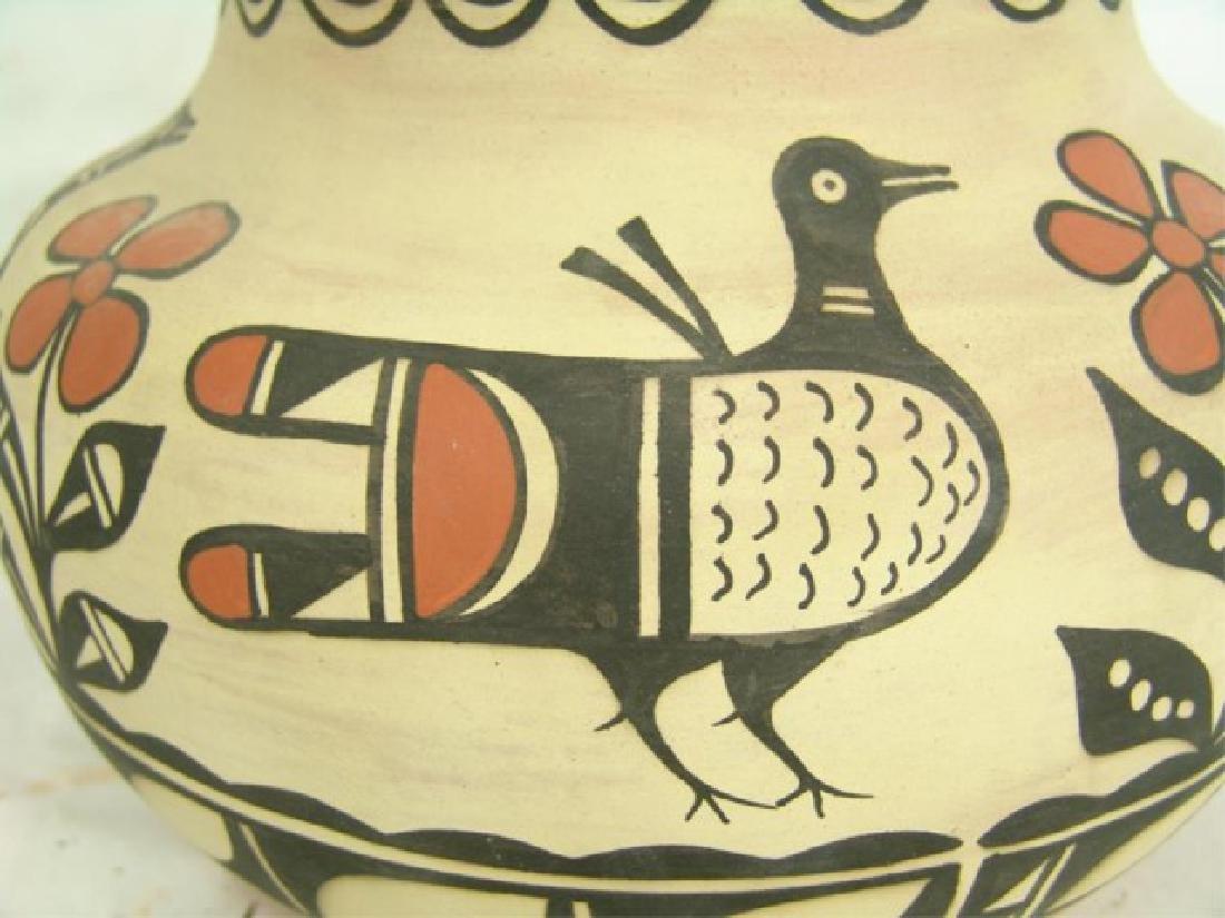 Santo Domingo Pottery Jar - Robert Tenorio(b.1950) - 6