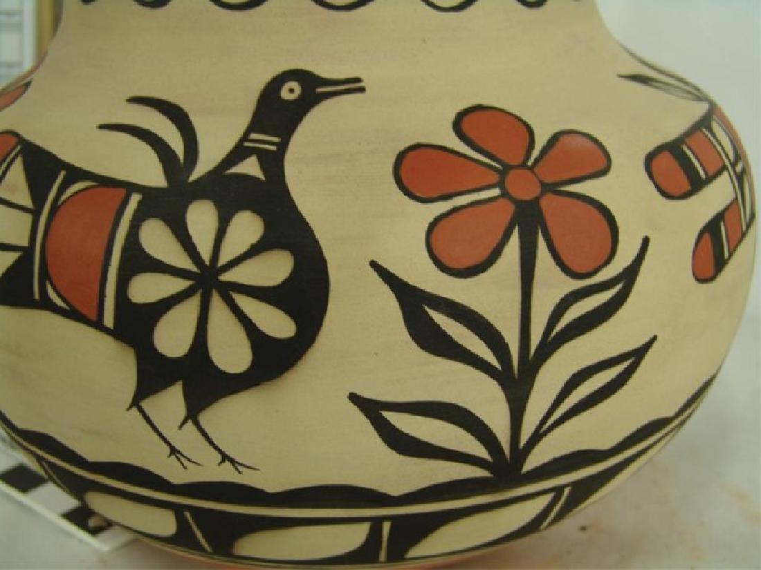 Santo Domingo Pottery Jar - Robert Tenorio(b.1950) - 7