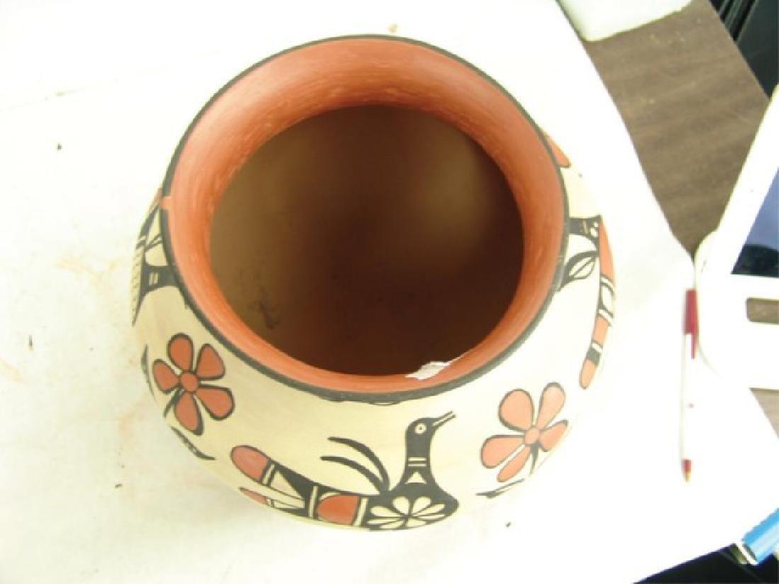 Santo Domingo Pottery Jar - Robert Tenorio(b.1950) - 9