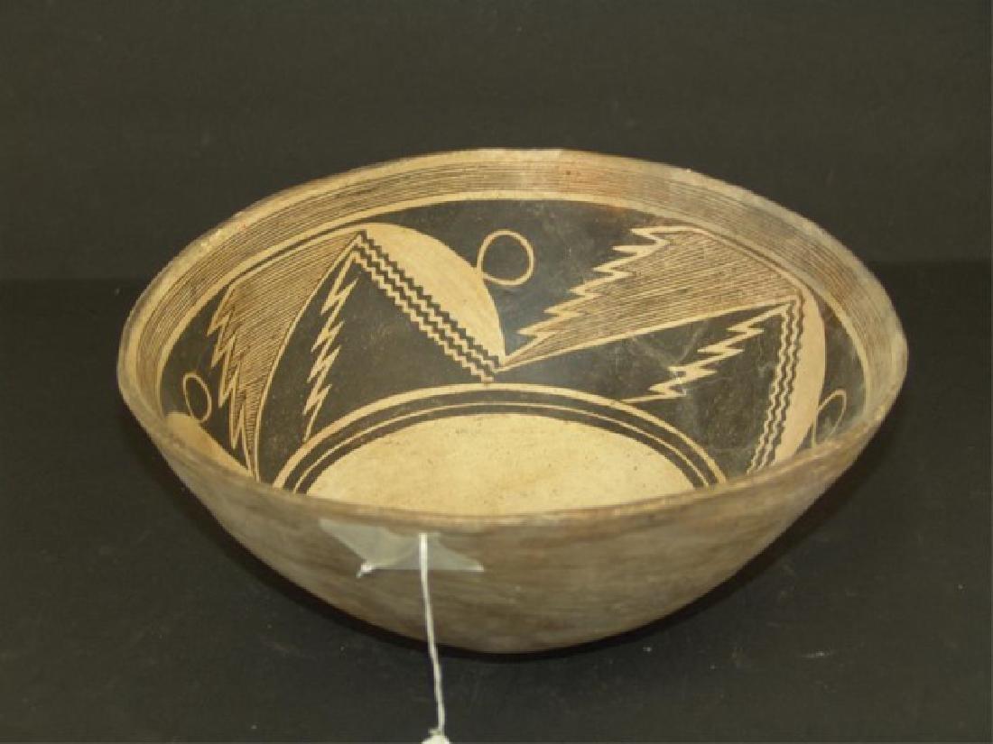 Mimbres Pottery Bowl - 3