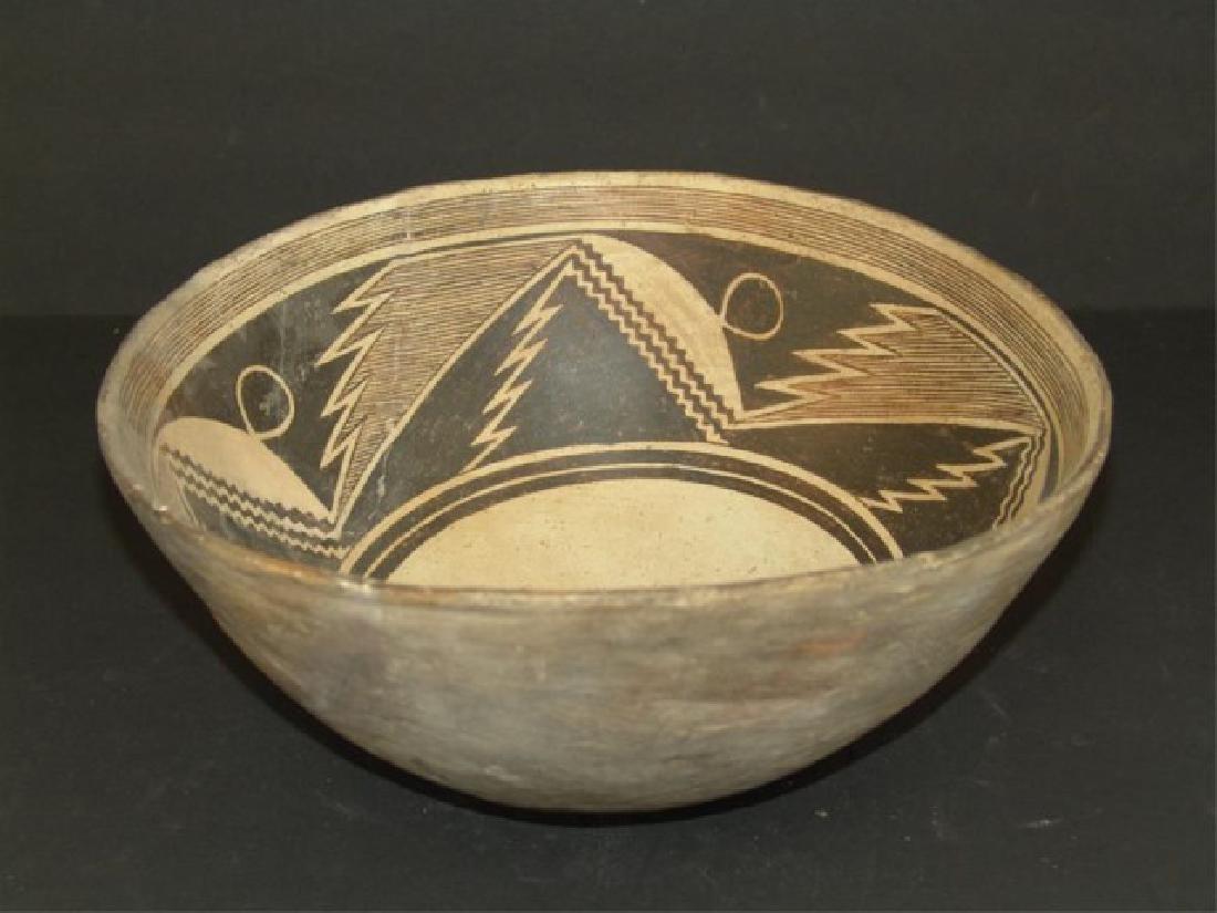Mimbres Pottery Bowl - 4