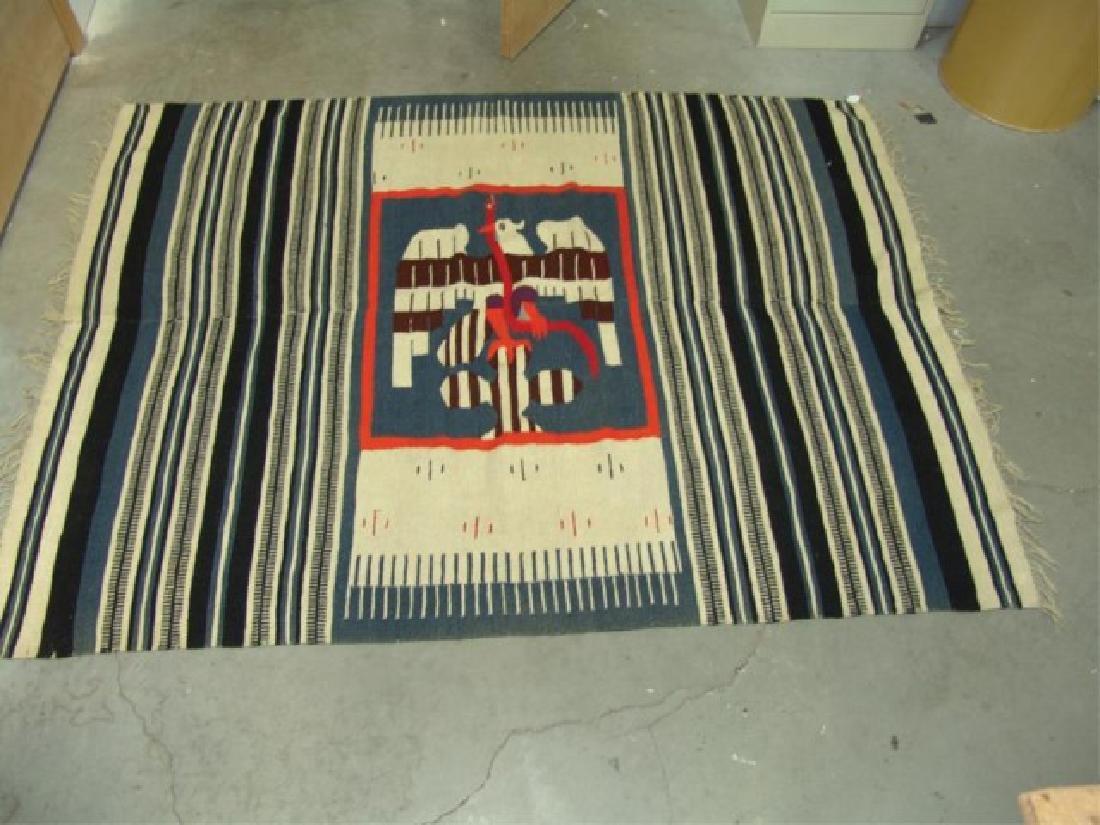 Mexican Rug/Weaving - 9