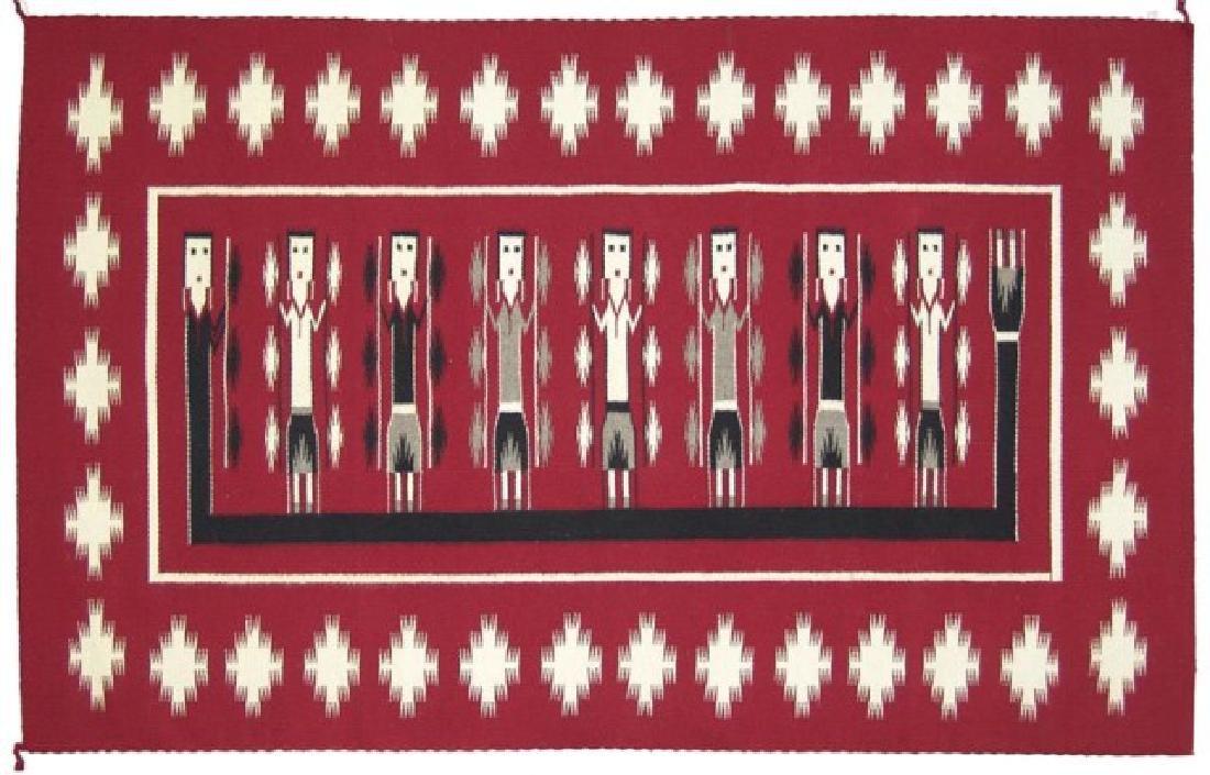 Navajo Rug/Weaving - Bessie Yazzie