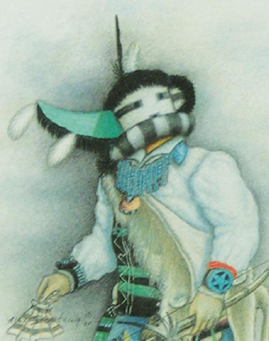 Alex Seowtewa, Zuni (b. 1933)
