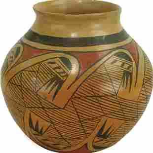Hopi Pottery Jar Leah Nampeyo