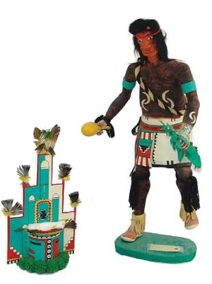 Large Hopi Kachina Carving