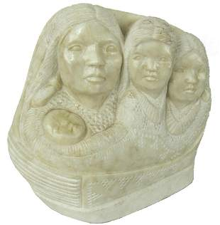 Navajo Sculpture Marylin Holly 20th Century