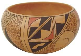 Hopi Pottery Bowl Kathleen Collateta